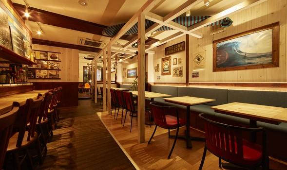 埼玉県川越のレストラン「テテ」の内装
