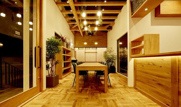 鎌倉の店舗デザイン事務所株式会社クスクスが設計したカフェシブリングス