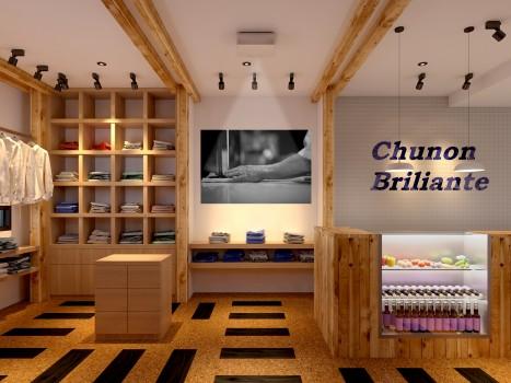 鎌倉の店舗チュノンブリランテの内装デザイン