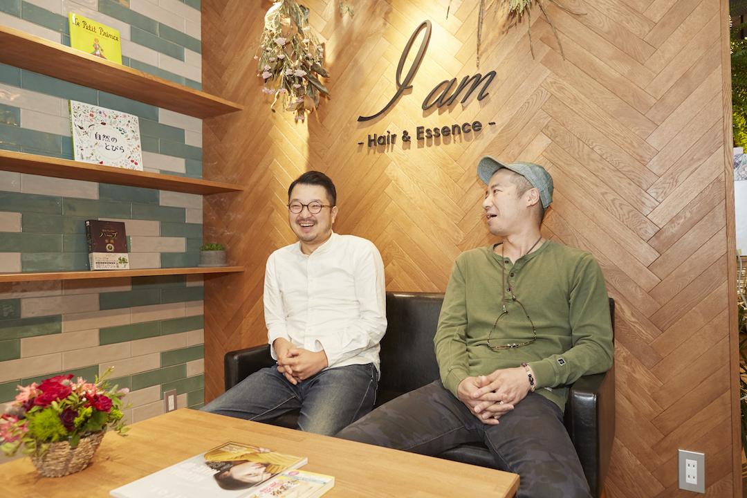 鎌倉のデザイン事務所株式会社クスクスが設計デザインをした美容室アイアム