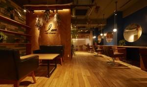 鎌倉のデザイン事務所クスクスがデザインした美容院アイアム